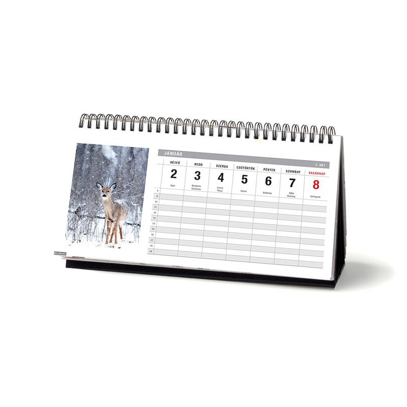 Asztali naptárak