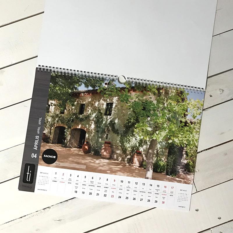 Fali naptár - céges
